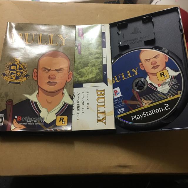 PlayStation2(プレイステーション2)のBULLY PS2ソフト エンタメ/ホビーのテレビゲーム(家庭用ゲームソフト)の商品写真