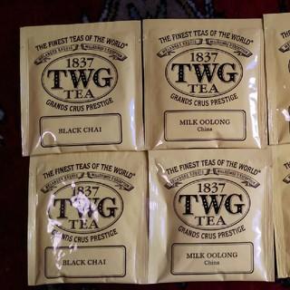 TWG ティーバッグ 4種類(茶)