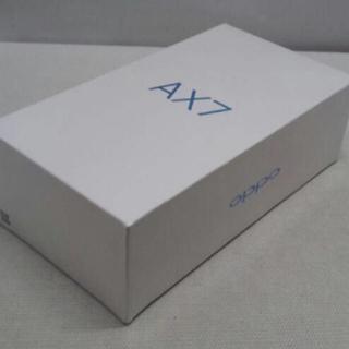 アンドロイド(ANDROID)の【送料無料】新品未開封 2月購入 OPPO AX7 ゴールド SIMフリー(スマートフォン本体)