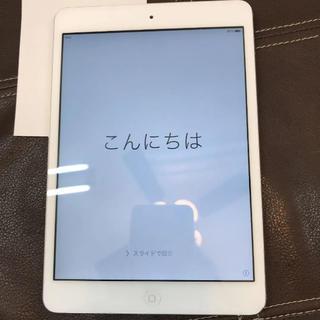 アップル(Apple)のiPad mini 16GB 本体中古(タブレット)