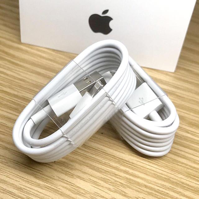 iPhone(アイフォーン)の充電ケーブル スマホ/家電/カメラのスマートフォン/携帯電話(バッテリー/充電器)の商品写真