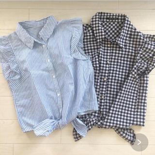 イング(INGNI)のINGNI袖フリルシャツ2枚セット(Tシャツ(半袖/袖なし))
