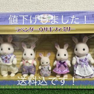 エポック(EPOCH)の新品!ラベンダーうさぎ 北海道(ぬいぐるみ/人形)