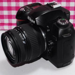 ニコン(Nikon)の⭐相棒と出掛けよう⭐Nikon D70 レンズキット・極美品・安心保証(デジタル一眼)