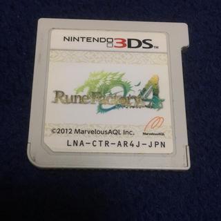 ニンテンドー3DS(ニンテンドー3DS)のルーンファクトリー4(携帯用ゲームソフト)