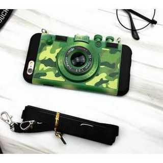 【送料無料】 iphone6/6s用 ケース 2way  ( カメラ 迷彩 )(iPhoneケース)
