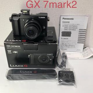 パナソニック(Panasonic)のPanasonic  LUMIX DMC GX7 MARK2 レンズキット(ミラーレス一眼)