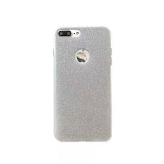 値下げ iPhone7plus/8plus専用ケース シルバー(iPhoneケース)