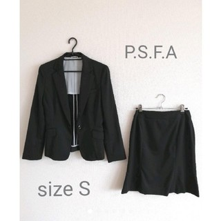 P.S.F.A スカートスーツ 上下セット 7号 Sサイズ(スーツ)