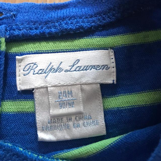 Ralph Lauren(ラルフローレン)の♡ラルフローレンワンピース♡専用♡ キッズ/ベビー/マタニティのキッズ服 女の子用(90cm~)(ワンピース)の商品写真