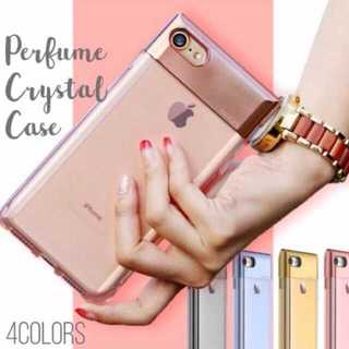 iPhoneが可愛く変身♥️✨香水ケース✨dj(iPhoneケース)