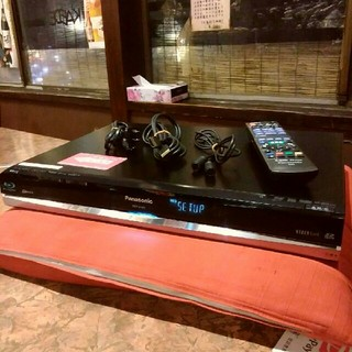 パナソニック(Panasonic)のPanasonic DIGA  DMR-BR500  250GB  リモ等付き❗(ブルーレイレコーダー)