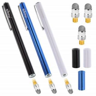 【新品】タッチペン スマホ タブレット 3本+ペン先3個 6mm (その他)