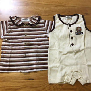 ロンパース&Tシャツ 70(ロンパース)