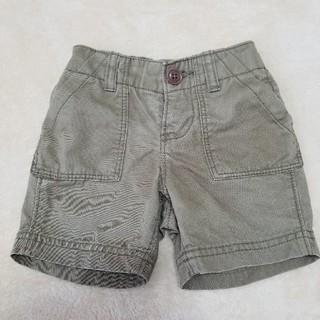 ベビーギャップ(babyGAP)のbaby Gap ベビー ギャップ ハーフパンツ 半ズボン カーキ 70(パンツ)