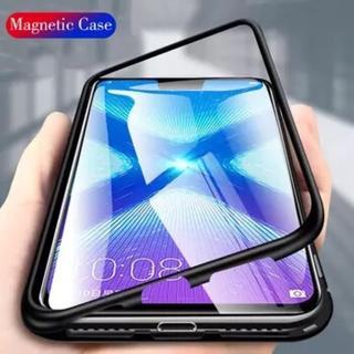 iPhone対応 スカイケース マグネット型 ブラック(iPhoneケース)