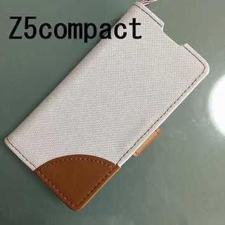 Z5compact Qデニム ホワイト(Androidケース)