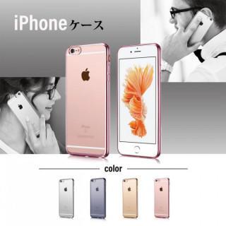 iPhoneX  透明 ソフト TPUケース(iPhoneケース)