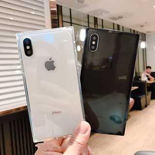 クリア スクエア  インスタ  iPhone7/8/plus/X  ケース(iPhoneケース)