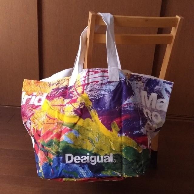 DESIGUAL(デシグアル)のデシグアル ノベルティバッグ 大きめサイズ レディースのバッグ(エコバッグ)の商品写真