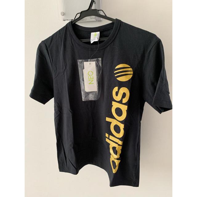 adidas(アディダス)のアディダスネオ 新品未使用タグ付きTシャツ メンズSサイズ メンズのトップス(Tシャツ/カットソー(半袖/袖なし))の商品写真