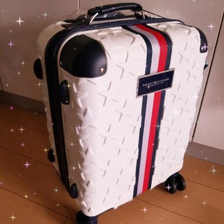 TOMMY HILFIGER - トミーヒルフィガー tommy HILFIGER キャリーバッグ 機内持ち込み可