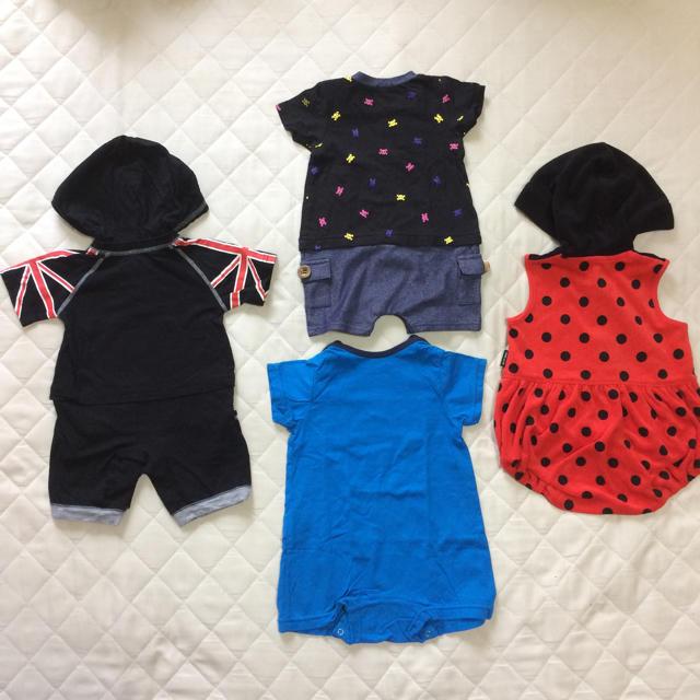 はるな様専用♡ロンパース70 キッズ/ベビー/マタニティのベビー服(~85cm)(ロンパース)の商品写真