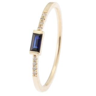 ココシュニック(COCOSHNIK)のココシュニック  サファイアダイヤモンド(リング(指輪))