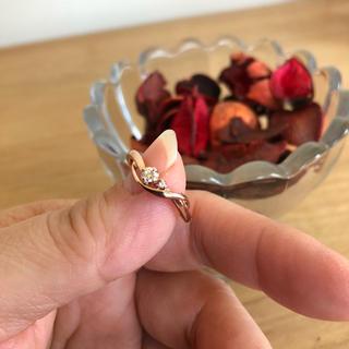 クミキョク(kumikyoku(組曲))のダイヤモンドリング 0.10ct  組曲 ダイヤリング 指輪 10号(リング(指輪))