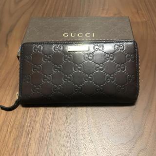 グッチ(Gucci)の美品✴︎ GUCCI 長財布 モノグラム ラウンドファスナー(財布)