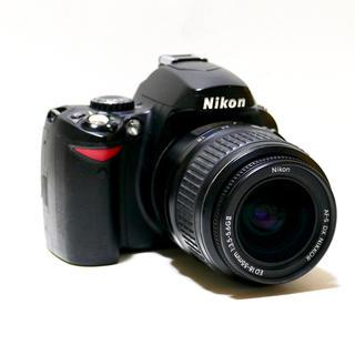 ニコン(Nikon)の⭐️はじめての一眼レフ⭐️Nikon D40 純正レンズセット(デジタル一眼)