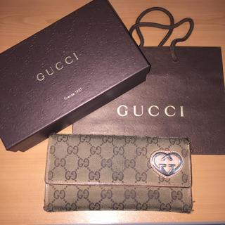 グッチ(Gucci)のGUCCI 長財布 付属品あり(財布)