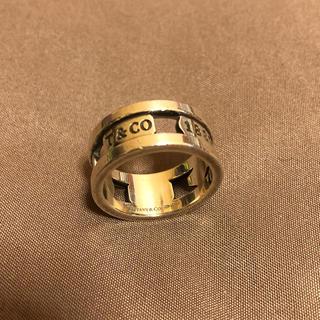ティファニー(Tiffany & Co.)のティファニーワイドシルバーリング1837(リング(指輪))