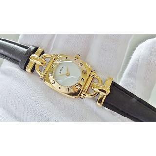 グッチ(Gucci)のGUCCI グッチ 6300L 女性用 クオーツ腕時計 電池新品 B2061メ(腕時計)
