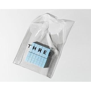 THREE - THREE サマークリアバッグ ノベルティ スリー