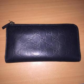 グッチ(Gucci)のGUCCI L字ファスナー 長財布(財布)