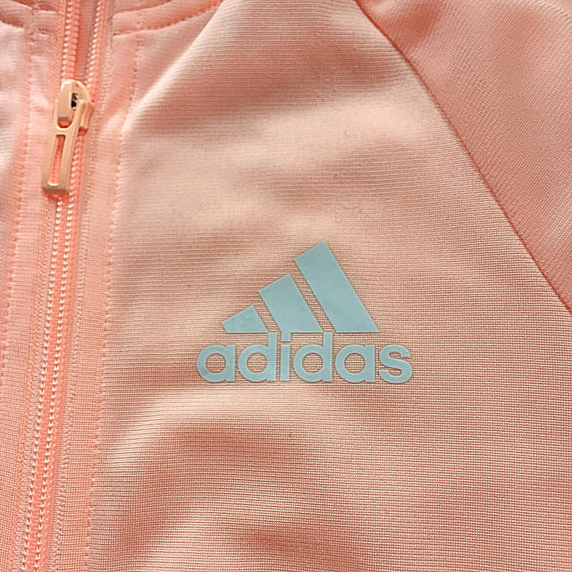 adidas(アディダス)の【140】adidas*女の子用ジャージ(ジャケットのみ) スポーツ/アウトドアのトレーニング/エクササイズ(その他)の商品写真