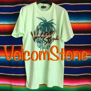 ボルコム(volcom)のVOLCOMボルコムUS限定パームストーンロゴデザインTシャツ M(サーフィン)