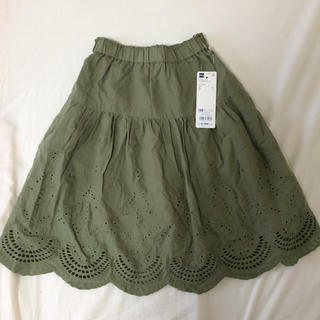 GU - 新品タグつき GU kids girls スカート  120 ロングスカート