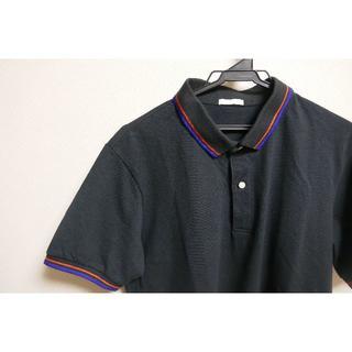 ジーユー(GU)のGU 黒 ポロシャツ(ポロシャツ)
