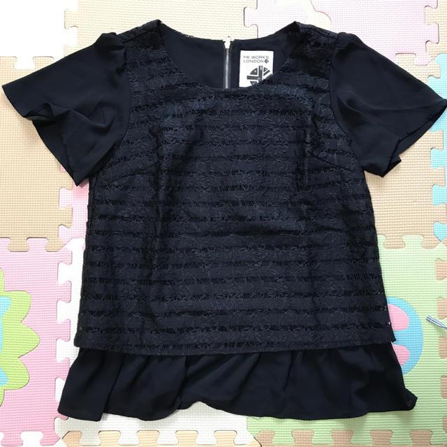 しまむら(シマムラ)のHK WORKS LONDON カットソー レディースのトップス(カットソー(半袖/袖なし))の商品写真