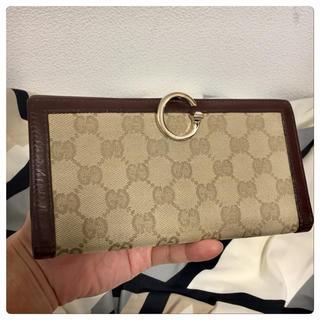 グッチ(Gucci)の【美品】GUCCI(グッチ)長財布(財布)