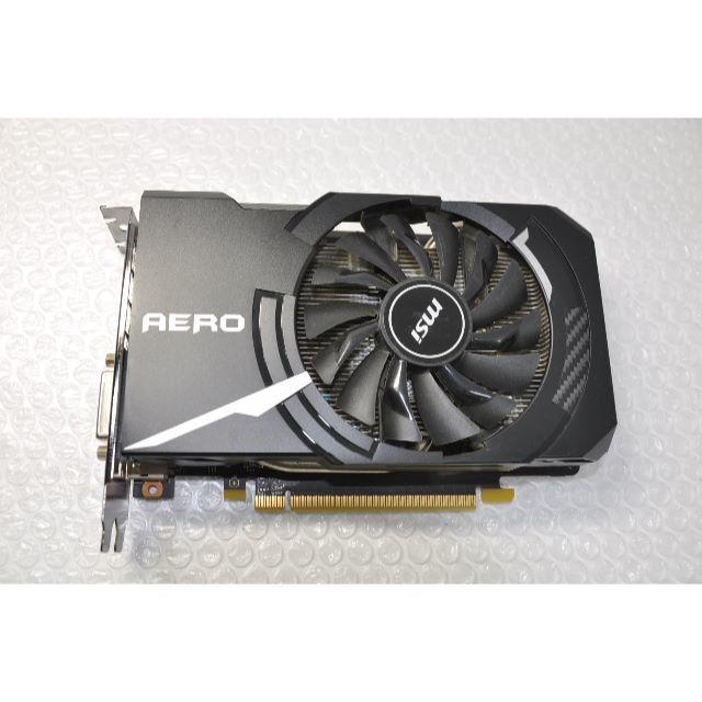 MSI製 NVIDIA GTX1060 6G搭載のビデオカード スマホ/家電/カメラのPC/タブレット(PCパーツ)の商品写真