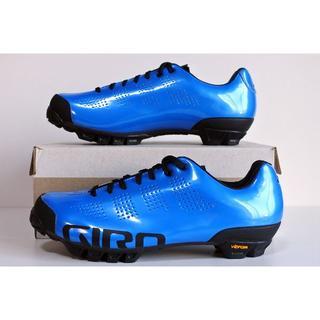ジロ(GIRO)の★ Giro ジロ エンパイア VR90 EU42.5 ブルー カーボンソール(ウエア)