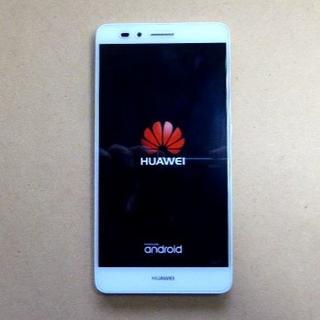 アンドロイド(ANDROID)の美品 Huawei ファーウエイ GR5 Simフリー ゴールド(スマートフォン本体)