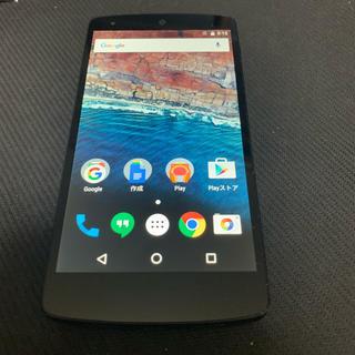LG Nexus5 16GB SIMフリー(スマートフォン本体)