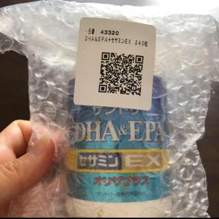 サントリー(サントリー)の【新品】DHA EPA セサミン EX オリザプラス  240粒(その他)