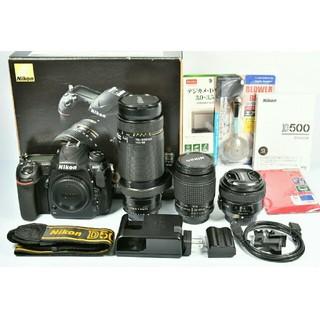 ニコン(Nikon)のNikon D500 標準&望遠&単焦点トリプルレンズセット(デジタル一眼)