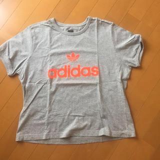 アディダス(adidas)のadidasのTシャツ(Tシャツ(半袖/袖なし))