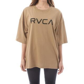 ルーカ(RVCA)の2019最新完売 BIG BIG RVCA ルーカ半袖TEEシャツ ベージュXS(Tシャツ(半袖/袖なし))